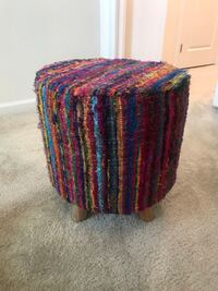 World Market textured, brightly colored stool Gainesville, 20155
