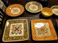 Artimino Tuscan Countryside Stoneware Dinner Set Virginia Beach