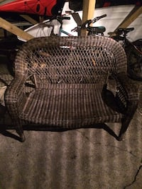 Resin wicker love-seat  Pitt Meadows, V3Y 1M9