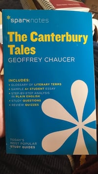 The Canterbury Tales Geoffrey Chaucer book Herndon, 20171
