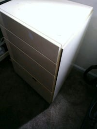 white wooden 3-drawer chest Richmond, 23231