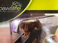 Brand new   paws life dog  Step Ramp or latter brand new cost me $60 asking for $50 lowest $40 thanks  Rockville, 20851