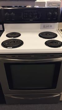 Basic 30 inch freestanding refurbished electric ranges