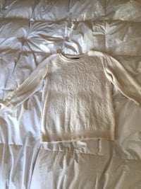 Banana republic offwhite sweater size small Bourbonnais, 60914