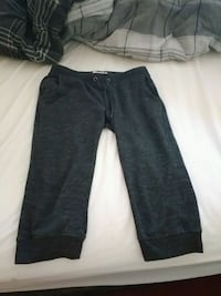 Size small.      Women knee pants grey  Vernon, V1H 2A2