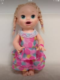 """Big  Baby Alive dressed up doll ,doesn't talk very Clean 15.5 """" Hamilton, L8V 4K6"""