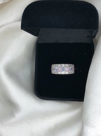 Silver plated ring size 7 BNIB Kitchener, N2E