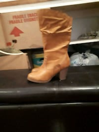 pair of brown leather boots Regina, S4N 2W1