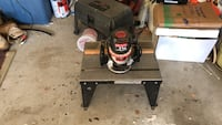 Craftsman 1 1/4 HP router with tableTools Gaithersburg, 20878