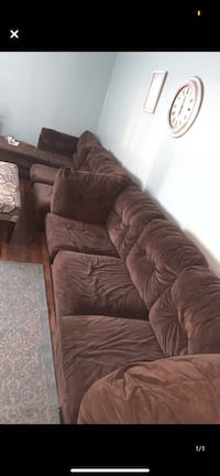 2 Brown Couches