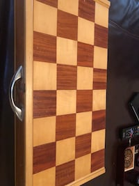 Hand crafted wooden chess set  Ashburn, 20147
