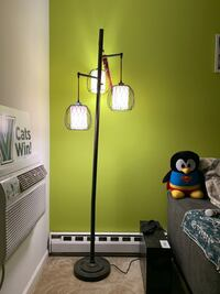 Rubbed Bronze Floor Lamp - 3 bulbs King Of Prussia, 19406
