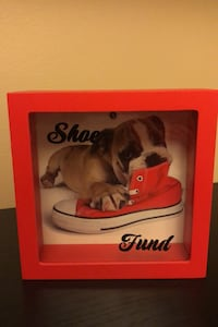 """shoe fund"" money box"
