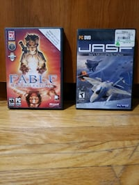 PC Games ( Fable and JASF ) Toronto, M3H 1S9