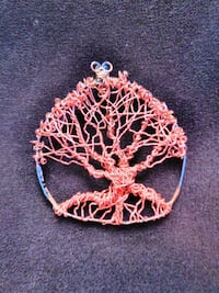 Tree of life wire wrapped pendant