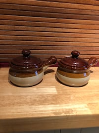 Soup bowls with handles and covers  Fairfax, 22030