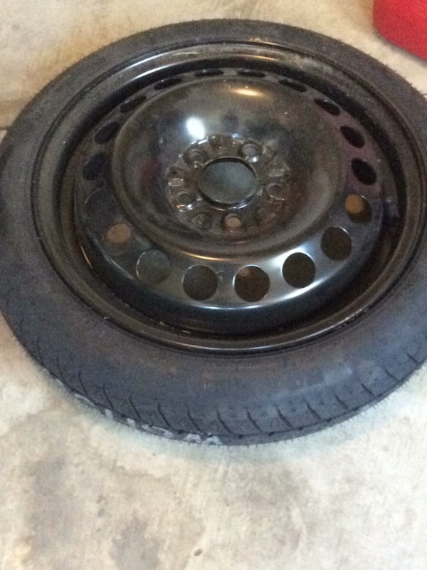 Malibu Chevy new spare tire/rim