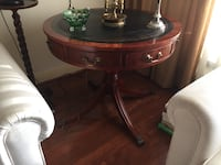 VINTAGE PAW FOOT ROUND SIDE TABLE