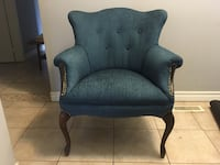 Newly upholstered mid century Queen Anne style chair  Toronto, M2J 2Z6