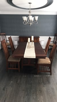 Dining room set, 6 chairs, table, and sideboard Virginia Beach, 23464