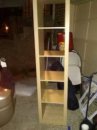 "Tall shelf 72"" excellent condition Alexandria, 22315"