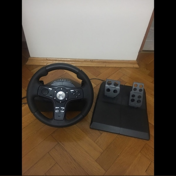 df7be7632aa Used Logitech Driving Force EX direksiyon+pedal 180 derece for sale ...