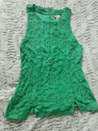 green floral scoop-neck sleeveless dress Toronto, M5V 2J2