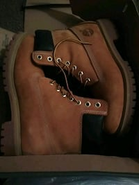 pair of brown Timberland work boots Odessa, 79764