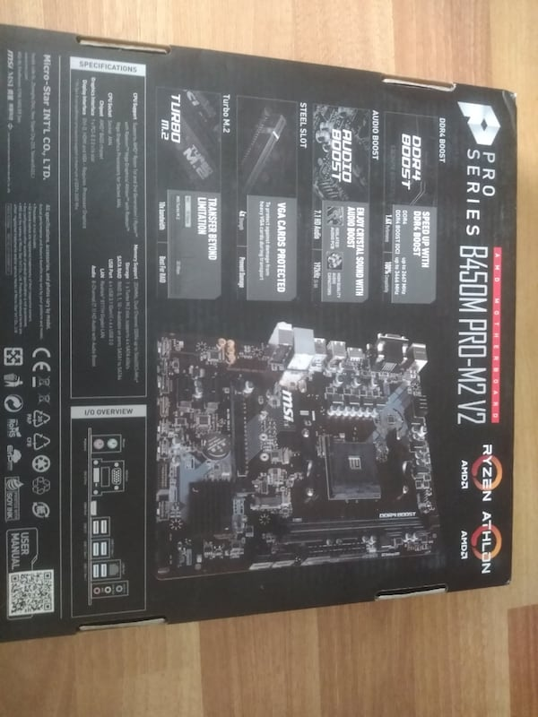 MSİ B450M PRO-M2 V2 AMD SERİ ANAKART 2b5da33b-bf40-4c84-b0a0-16be12bb21c2