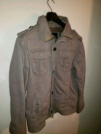 Mens Lined Coat -Zipper & Button~RW & Company  Barrie, L4N 9T3