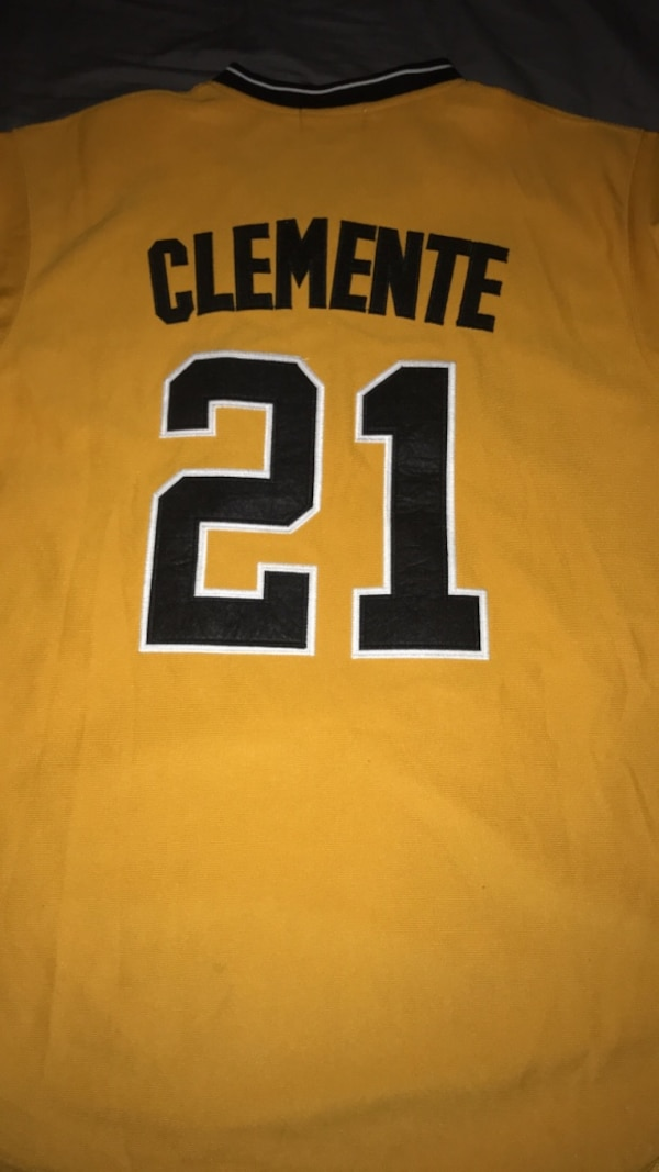 best website 58104 8b416 Cooperstown Collection Authentic Roberto Clemente Pittsburgh Pirates Jersey