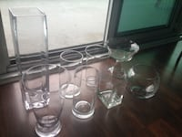 Various glass vases / containers Toronto, M4G 4K3
