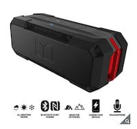 Monster wireless all weather waterproof Bluetooth speaker subwoofer iPhone smartphone iPad tablet LG Huawei audio music Bose ip67 Delta, V4E 3H5