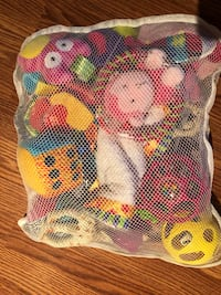 Bag of stroller toys or link toys  Toronto, M1P 4B2