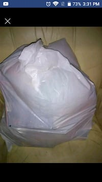 Trash bag full of vhs movies Lenoir