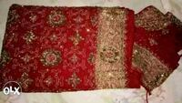 red and white floral textile Delhi, 110063