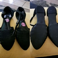 two pairs of black and  sandals El Paso, 79928
