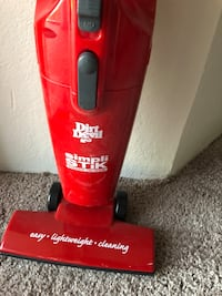 red and black Dirt Devil upright vacuum cleaner Los Angeles, 90017