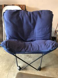 Portable Foldable Camping/Picnic Chair Silver Spring, 20905
