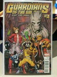 #1 Guardians of the Galaxy comic book Marvel