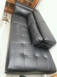 Black Sectional or could be 2 Couches Wilmington, 28401
