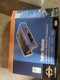 Linskys cable modem