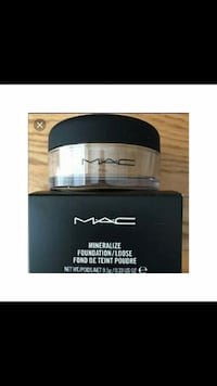 New MAC Mineralized Loose Powder Foundation Toronto