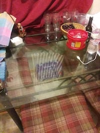 Glass iron table.no chairs Lakeland, 33801