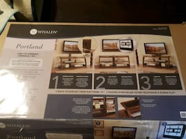 Tv with Table (Whalen) 3-In-1 TV Console