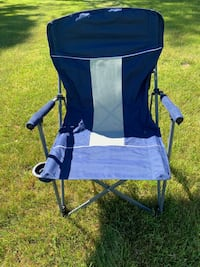 Collapsible Folding Chair (blue)
