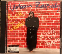 RICK JAMES URBAN RAPSODY CD Herndon, 20170