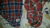 red, blue, and white plaid shorts Reading, 19602