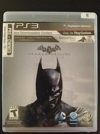Batman Arkham Origins for PS3 Vaughan, L4L
