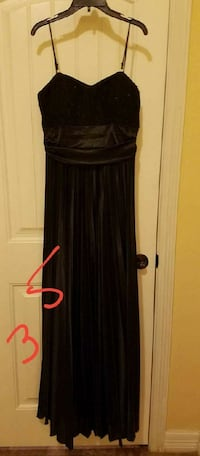 black spaghetti strap maxi dress 1486 mi
